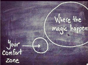 Comfort Zone and where the magic happens